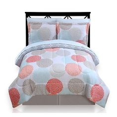 The Big One Dahlia Dot Reversible Bed Set. Hmmm. Bought it. It's still in the bag. The more I look at the pic the less I like it. It's going back.