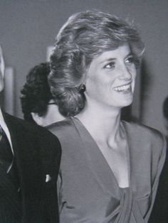 Princess Diana (I think this Australia 1988)