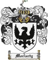 Moriarty Coat of Arms / Moriarty Family Crest www.4crests.com #coatofarms #familycrest #familycrests #coatsofarms #heraldry #family #genealogy #familyreunion #names #history #medieval #codeofarms #familyshield #shield #crest #clan #badge #geneology #tattoo