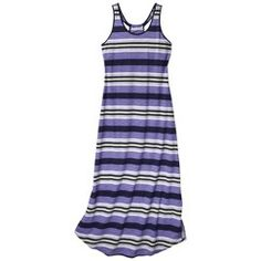 Gilligan & O'Malley® Women's Slub Knit Maxi - Heather Grey L