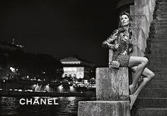 Chanel Karl Lagerfeld + G. Bundchen