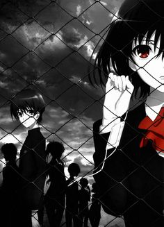 Another (Horror anime) - Misaki Mei Corpse Party, Manga Anime, Anime Art, Noragami, Tokyo Ghoul, Another Misaki Mei, Otaku, Another Anime, Cowboy Bebop