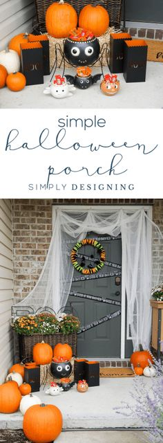 Easy Outdoor Hallowe