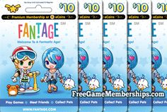 Earn a Free Fantage Premium Membership at FreeGameMemberships.com!  Sign up and start earning points!