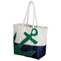 Sperry TopSider tote from recycled sails on sail now