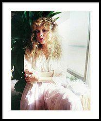 Stevie Nicks 1981 No.3 Framed Print by Chris Walter