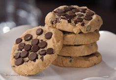 Peanut Butter Chocolate Chip Shortbread Cookies - recipe included