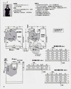 1b - Crochet: TOP - Gillette - Medusa OT PLECHA