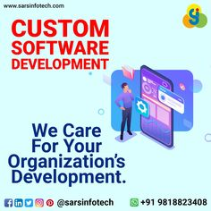Think innovatively for enhancing the work methodology of your organization with the support of our user-friendly software exclusively designed for your day to day functions.  Whatsapp now at +91 9818823408 for knowing more about our cost-effective packages.  #softwaredevelopment #customsoftwaredevelopment #contentmarketing #appseo #marketingexperts #marketingideas #digitalmarketingexpert #marketingdigital #businessadvertising #marketyourbusiness #marketyourbrand #businessguide… Content Marketing, Digital Marketing, Organization Development, Best Web Design, Web Design Company, Software Development, Luxury Branding, Online Business, How To Plan