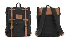 Catamount Backpack - Black by Red Clouds Collective | MONOQI