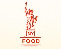Logo Design - NY FOOD