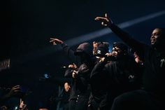 Section Boyz perform on stage with OVO's Drizzy Drake and Boy Better Know's Skepta in London, for their UK tour. UK Rap and Grime Music Boy Better Know, Whats Good, Popular Music, Listening To Music, Drake, Feel Good, Bring It On, Tours