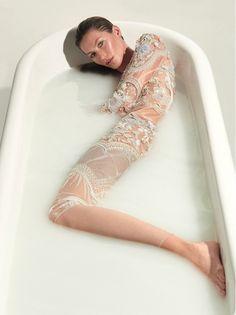 Gisele Zee in Vogue Brazil // Photo: Nunes