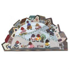 """Quilt """"Le Petit Village"""" - Kit de Reiko Kato"""