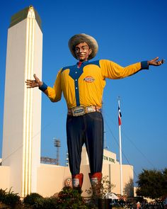Big Tex, State Fair of Texas - Hard to believe I have lived in Texas since 1969 and never been to the state fair.