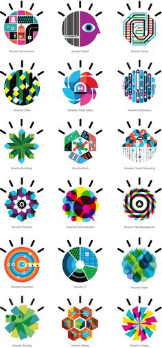 IBM Smarter Planet by Office, via Behance
