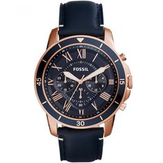 Fossil watches for men Fossil Watches For Men fossil chronograph grant sport blue leather strap watch YWOYISV Fossil Watches For Men, Army Watches, Sport Watches, Cool Watches, Casual Watches, Mens Watches Leather, Leather Men, Datejust Rolex, Men Watches
