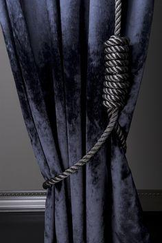 Interior fabrics by Marty Lamers for JAB ANSTOETZ, 2008. High-piled velvet: 'Sable'.
