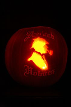 Sherlock Holmes | Community Post: 18 Literary Pumpkins For A Bookish Halloween