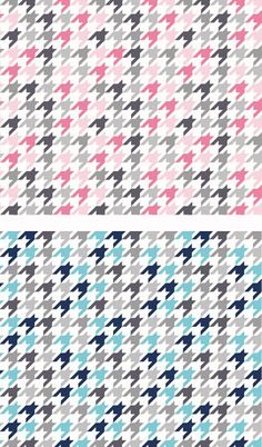 Multi-Houndstooth by the Riley Blake Designers for Riley Blake Designs