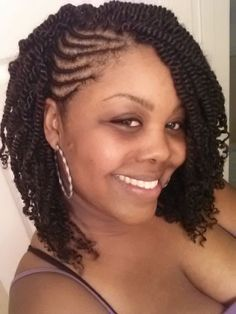45 easy and showy protective hairstyles for natural hair flat embrace your afro textured hair with protective kinky twists hairstyles in all lengths shapes and colors from jumbo twists to ombre braids and more pmusecretfo Choice Image