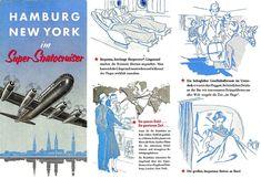 Pan Am, New York, Cutaway, 1950s, History, Hamburg, World, Viajes, New York City