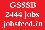 GSSSB Recruitment 2014 www.gsssb.gujarat.gov.in 2444 bin sachivalay clerk jobs
