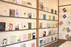 ZINE専門店 都立大学 Zine, Shelving, Photo Wall, The Unit, Frame, Shop Ideas, Home Decor, Shelves, Picture Frame