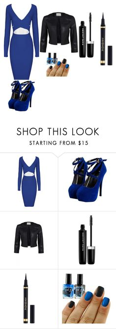 """""""blue and back"""" by jseymore ❤ liked on Polyvore featuring Marc Jacobs"""