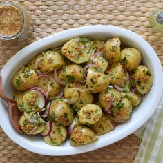 Tasty Vegetarian Recipes, Potato Salad, Food And Drink, Dinner, Vegetables, Cooking, Healthy, Ethnic Recipes, Tortillas