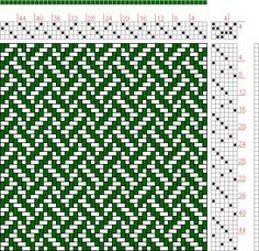 Hand Weaving Draft: Page Figure Orimono soshiki hen [Textile System]… Card Weaving, Tablet Weaving, Loom Weaving, Weaving Designs, Weaving Projects, Swedish Weaving Patterns, Dobby Weave, Fair Isle Knitting Patterns, Weaving Textiles