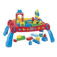 "Need this for the bazillion mega blocks we have!!! Mega Bloks Play 'n Go Table (8237) - MEGA Brands - Toys ""R"" Us"