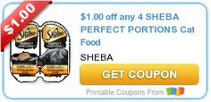 Sheba Perfect Portions Cat Food Only 18-Cents at Target!