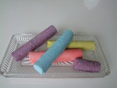 DIY bath crayons