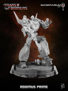New Rodimus Prime Transformers Statue Coming Soon from Imaginarium Art