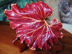 Concrete Leaf Casting by ConcreteImpressions on Etsy, $24.00