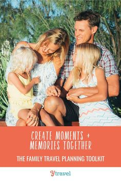 Does family travel planning stress you out? Get the family travel planning toolkit where we'll show you how to create better and more rewarding family travel experiences. #travelplanning