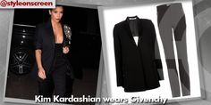 Want to know where Kim Kardashian got her outfit from during Paris Fashion Week? Style on Screen can tell you!