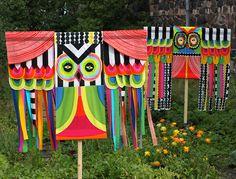 Textile art for Mari Savio's and Kati Rapia's book Surrur – Make your own Marimekko, published by WSOY.