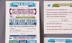 I want to do something like this, maybe not an invitation though. Cute idea! Love Story Wedding Invitation   Emmaline Bride®