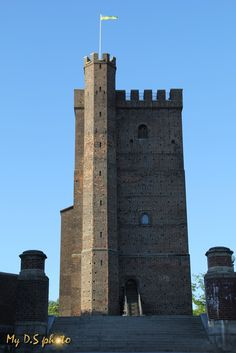 Kärnan a fortress from year 1310 in Helsingborg, Sweden