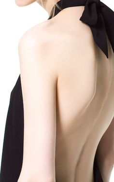 DRESS WITH LOW - CUT BACK - Dresses - Woman | ZARA Thailand