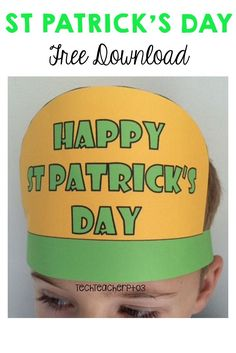 Have fun this Saint Patrick's Day by bringing this celebration into your classroom with these silly free printable hats. Inside this free download, you will find 3 x full-colour printable hats and 3 x black and white hats ready to print. All are very easy to put together, your students are going to love decorating and wearing these hats with pride. A fantastic way to finish your unit on Ireland or celebrations around the world. #stpatricksday #freedownload #freebie #teaching #ireland #teacher First Grade Freebies, Kindergarten Freebies, Kindergarten Reading, Preschool Kindergarten, Free Teaching Resources, Learning Activities, Teaching Ideas, Black And White Hats, First Grade Science