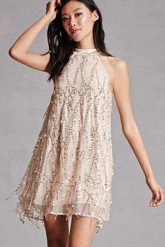 f02c7f0ebd Sequin Swing Dress