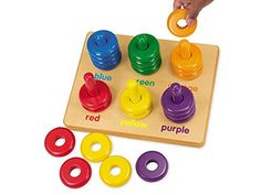 Lakeshore Color Rings Sorting Board *** Want to know more, click on the image.(It is Amazon affiliate link) #cali