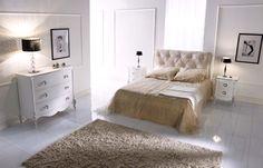 Calda atmosfera della camera da letto coll. Fru Fru 2 Elle Falegnameria artigianale toscana