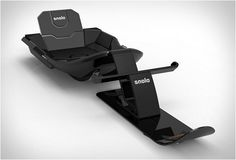 Have the coolest ride this winter season!  Meet the Snolo Stealth-X Sled...