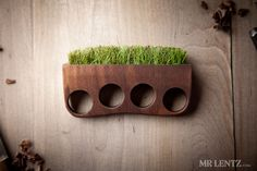 Wood and grass rings: Grass Brass knuckles These are so cool.