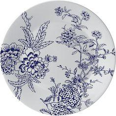 JASPER CONRAN @ WEDGWOOD Chinoiserie Blue 18cm plate