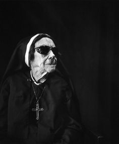 Photo by Imogen Cunningham - Nun at Sacred Heart Convent, 1976. ☀ oh my dear father forgive me, for I have sinned.